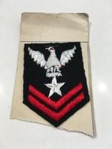 Wwii Era U.S.N. U.S. Navy Insignia Patch For Kid's Uniform - $2.99