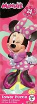 Cardinal Disney Minnie Mouse - 24 Piece Tower Jigsaw Puzzle - v2 - $9.89