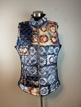 Simply Art by Dolcezza Womens Vest Jacket XL Multicolor - $98.99