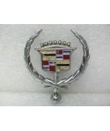Hood Ornament Badge Emblem *Cracks* 1980 1981 1982 1983 1984 1985 Sevill... - $19.79