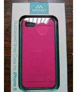 iPhone 5 Merkury Chroma Rubberized Snap Case pink - $10.00