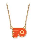 Ss/Gold Plated Sterling Silver With Gp Nhl Logoart Philadelphia Flyers S... - $49.49
