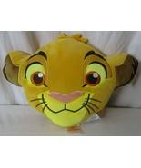 Disney Lion King Simba Plush Throw Bed Pillow 15 x12 NWT - $24.74