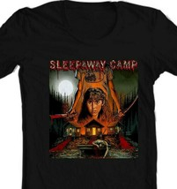 Sleepaway Camp T Shirt retro horror 1980s slasher movie 100% cotton graphic tee image 2