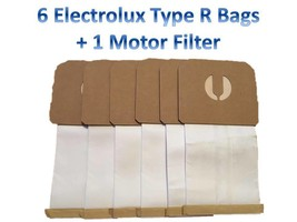 6 Canister Vacuum Bags for Electrolux Renaissance Guardian Style R, 9000 8000 - $7.17