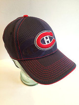 Montreal Canadiens NHL Hockey Team Logo Baseball Cap Fitted S-M - $20.66