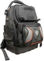 Klein Tools Jobsite Backpack Tool Organizer 19.5 in. 48-Pocket Padded Straps - $209.95