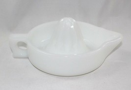 Vintage 1960s McKee Milk Glass Says SUNKIST Reamer Juicer Advertisement - $15.14