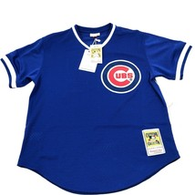 Mitchell & Ness Mens Ryne Sandberg Cubs Authentic Mesh Jersey L AA00047 - $74.51