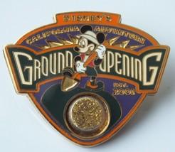Disney Pin, DCA - Disney's California Adventure Ground Opening Gold Dust... - $18.31