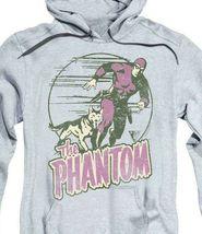 The Phantom hooded sweatshirt retro comics distressed graphic hoodie WSF180 image 3