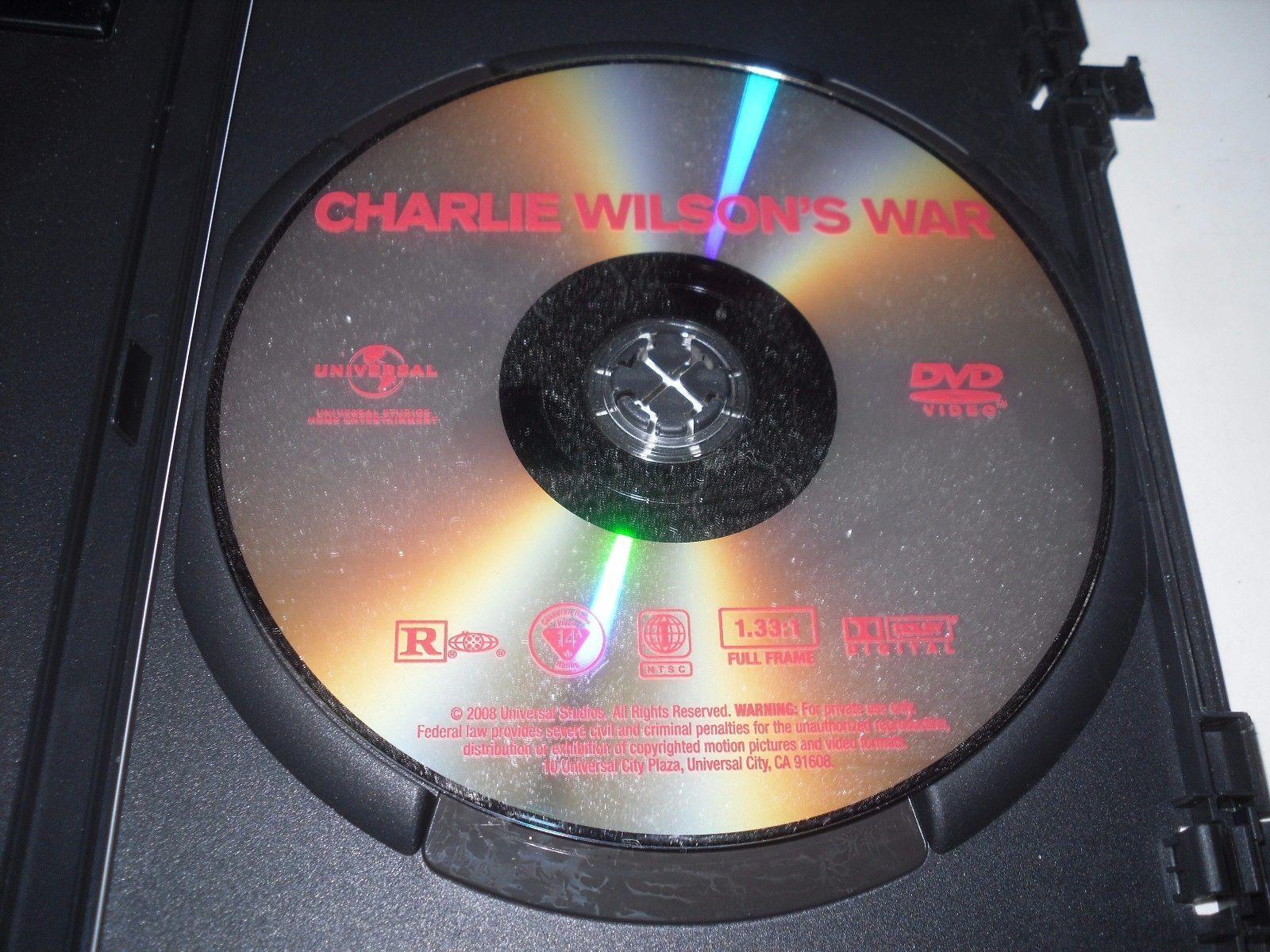 Charlie Wilson's War (DVD, 2008, Full Frame) Philip Seymour Hoffman, Tom Hanks