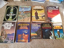 Carlos Castaneda's 9 Book Set: The Teachings of Don Juan, A Separate Rea... - $82.95