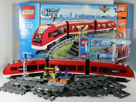 Lego CITY PASSENGER TRAIN 7938 BOX INSTRUCTIONS 100% Complete RETIRED 66... - $197.99