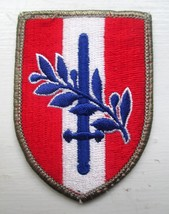 Us Army Forces Austria Usfa Ww Ii Occupation Embroidered 3 Inch Patch New - $2.50