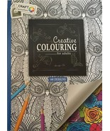 Adult Colour Therapy Anti-Stress Colouring Book 160 Designs - $11.20