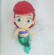 "Disney Store The Little Mermaid 14"" Plush Ariel Princess Doll Stuffed An... - $24.19"