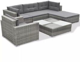 Garden Sofa Set Rattan Table Outdoor Patio Pool Wicker Clearance Furnitu... - $1,071.38