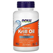 Now Foods, Neptune Krill Oil, 500 mg, 120 Softgels - $54.75