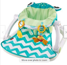 Sit-Me-Up Floor Seat Frog Gender Neutral Comfy Supportive Chair Fisher-P... - $70.00