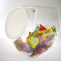 165 fl. oz. Clear Stackables PVC Storage Container, 6 x 8.50 in. One Case - $53.99