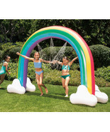 Summer Waves Giant Rainbow Arch Water Sprinkler 99in x 78in Long - £31.91 GBP