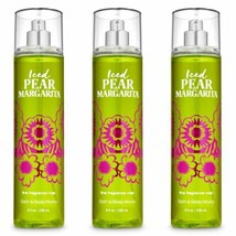 3 Pc. Bath & Body Works Iced Pear Margarita Fine Fragrance Mist Gift Set... - $25.23