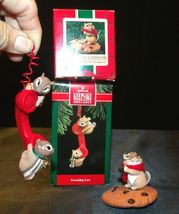 Hallmark Handcrafted Ornaments Friendship Line & Chocolate Chipmunk AA-191794 Co image 5