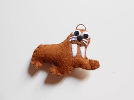 Walrus felt ornament or key chain. Stuffed anim... - $10.35