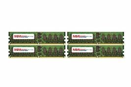 Memory Masters 8GB (4x2GB) DDR2-667MHz PC2-5300 Ecc Rdimm 1Rx4 1.8V Registered Me - $59.24