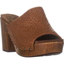 WHITE MOUNTAIN Shoes ALTORIA Sandal, Tan/Burn/Woven/Sm, 9.5 US - $32.63