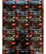 THE SUPER PANTHER MAX 77k LONG LASTING MALE ENHANCEMENT SUPPLEMENT 9 COUNT - $48.99