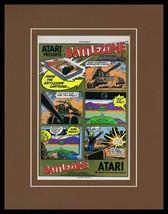 Battlezone 1983 Atari Framed 11x14 ORIGINAL Vintage Advertisement - $37.04
