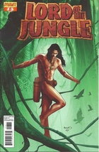 (CB-14} 2012 Dynamite Comic Book: Lord of the Jungle #8 { Variant Cover B } - $3.00