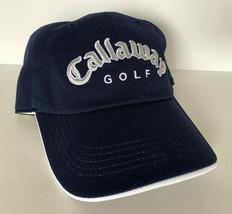 New! Callaway Adult Unisex Golf Adjustable Cap-Navy - $23.40