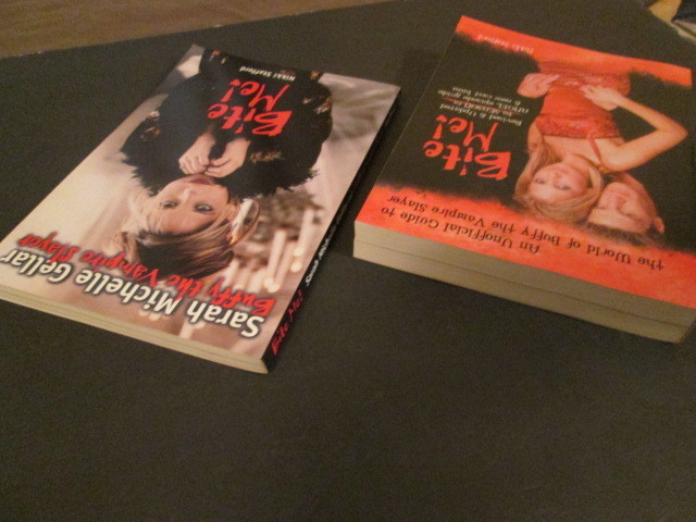Buffy the Vampire Slayer books: Bite Me! 1st and 2nd editions (NEW)