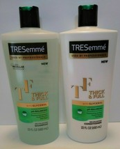 TRESemme Thick & Full with Glycerol ph-Balanced Shampoo & Conditioner 22... - $18.99