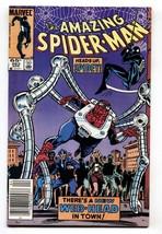 AMAZING SPIDER-MAN #263-1st NORMIE OSBORN-Newsstand variant - $50.44