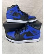 Nike Air Jordan 1 Mid Hyper Royal (2020) 554724-077 US 12 Men's Brand New - $178.15