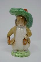 Royal Albert England 1989 F Warne & Co Benjamin Bunny Beatrix Potter Figurine - $28.49