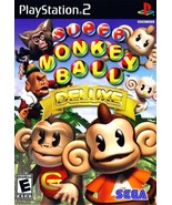 Super Monkey Ball Deluxe - PlayStation 2 - $36.39