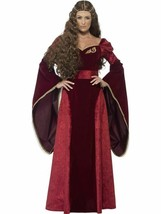 Medieval Queen Deluxe Costume, UK 12-14, Tales of Old England Fancy Dress - $39.84