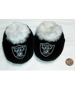 """Oakland Los Angeles Las Vegas Raiders Toddlers SZ S 4"""" Embroidered Booti... - $9.88"""