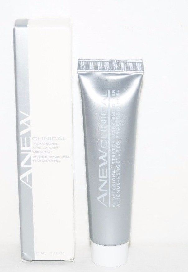 Avon Anew Clinical Professional Stretch Mark Smoother .5 oz ( 2 Pack) *New*