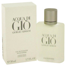 Acqua Di Gio Cologne by Giorgio 1.7 oz Eau De Toilette Spray 100% Authentic - $52.92