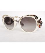 PRADA Women's Sunglasses PR07TS MINIMAL BAROQUE Ivory Acetate MADE IN IT... - $255.00