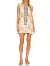 Free People Da Donna Summer In Tulum OB948223 Mini Abito Multicolore XS - $46.82