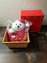 Vintage AVON Holiday Mouse Basket The Gift Collection NIB - $12.99