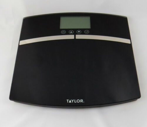Primary image for Bathroom Scale Taylor Body Composition Scale Black Model 5789FW Opened Box