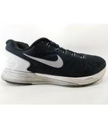 Nike Lunarglide 6 Misura USA 9.5 M (B) Eu 41 Donna Corsa Scarpe Nere 654... - $22.59